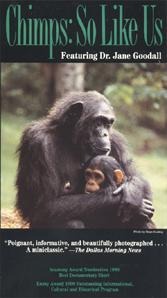 Chimps: So Like Us (VHS)