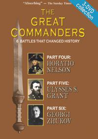 Great Commanders Series 3-DVD set (Parts 4,5,6)