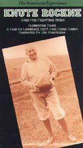 Knute Rockne and His Fighting Irish (VHS)
