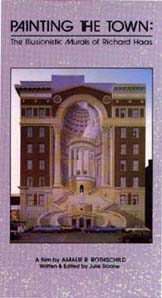 Painting the Town: The Illusionistic Murals of Richard Haas (VHS)