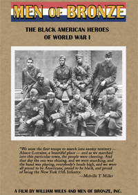 Men of Bronze: The Black American Heroes of World War I (DVD)